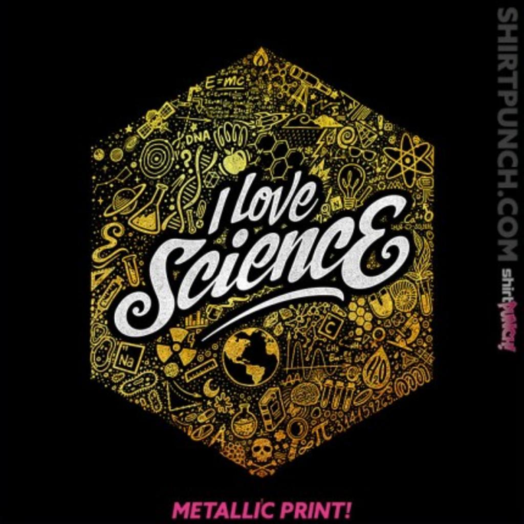 ShirtPunch: I Love Science