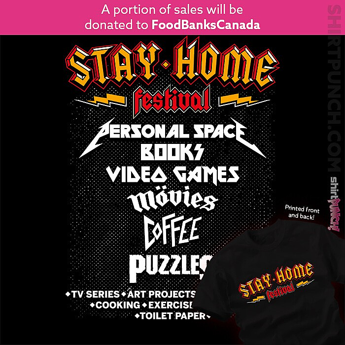 ShirtPunch: Stay Home Festival
