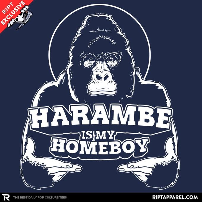 Ript: Harambe is my Homeboy