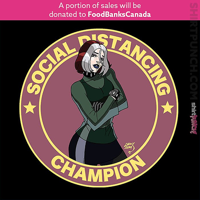 ShirtPunch: Rogue Evolution Social Distancing Champion