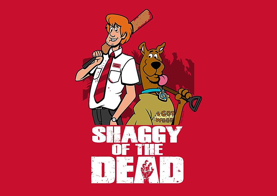 TeeFury: Shaggy of the Dead