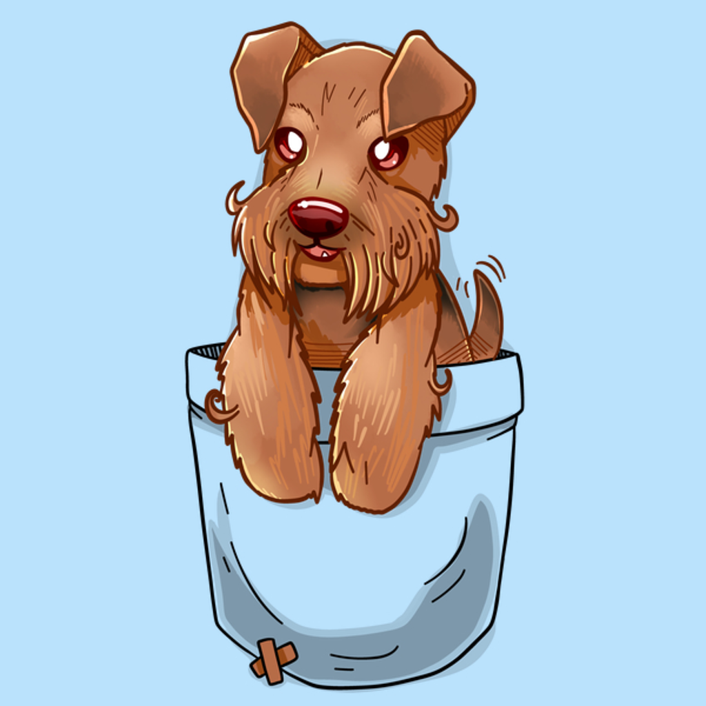 NeatoShop: Pocket Cute Welsh Terrier Dog