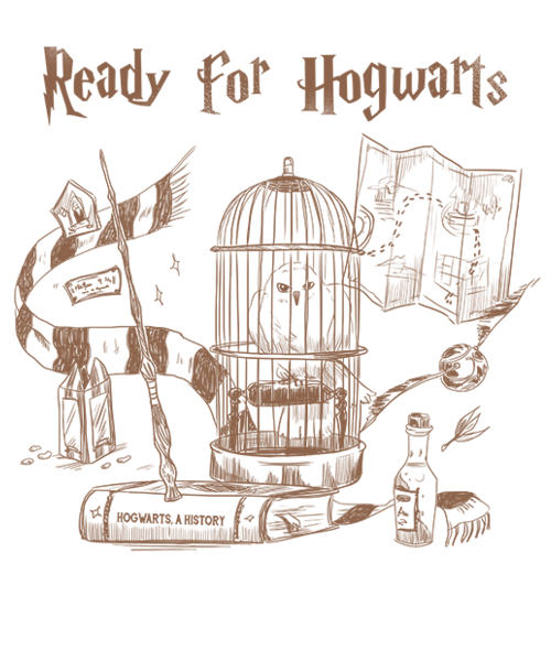 Qwertee: Ready to Hogwarts
