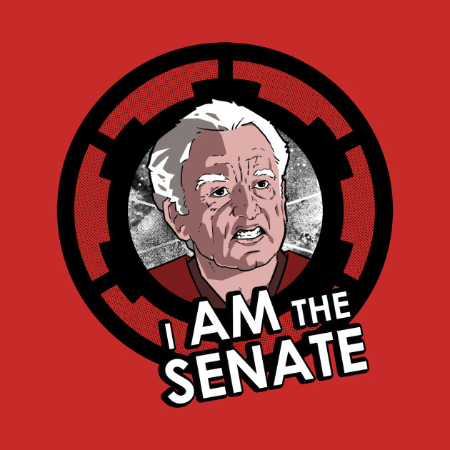 TeePublic: I am the senate!