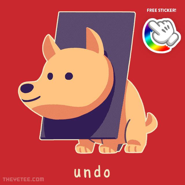The Yetee: Undo!