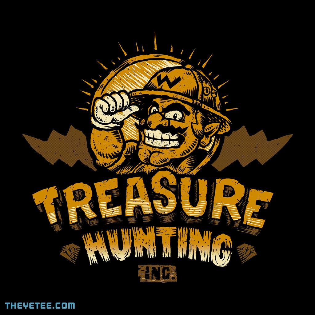 The Yetee: Treasure Hunting Inc.