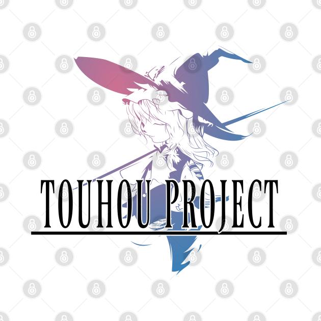 TeePublic: Touhou Project Logo 2