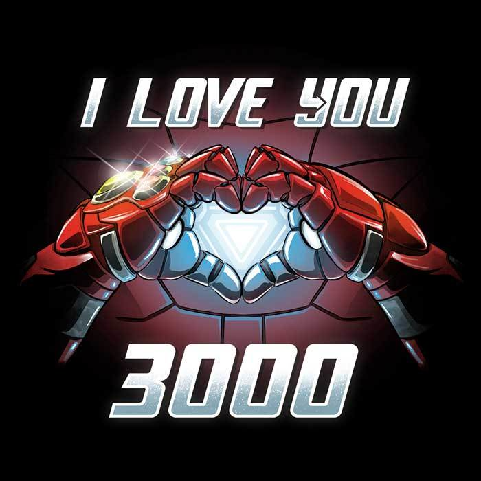 Once Upon a Tee: I Love You 3000