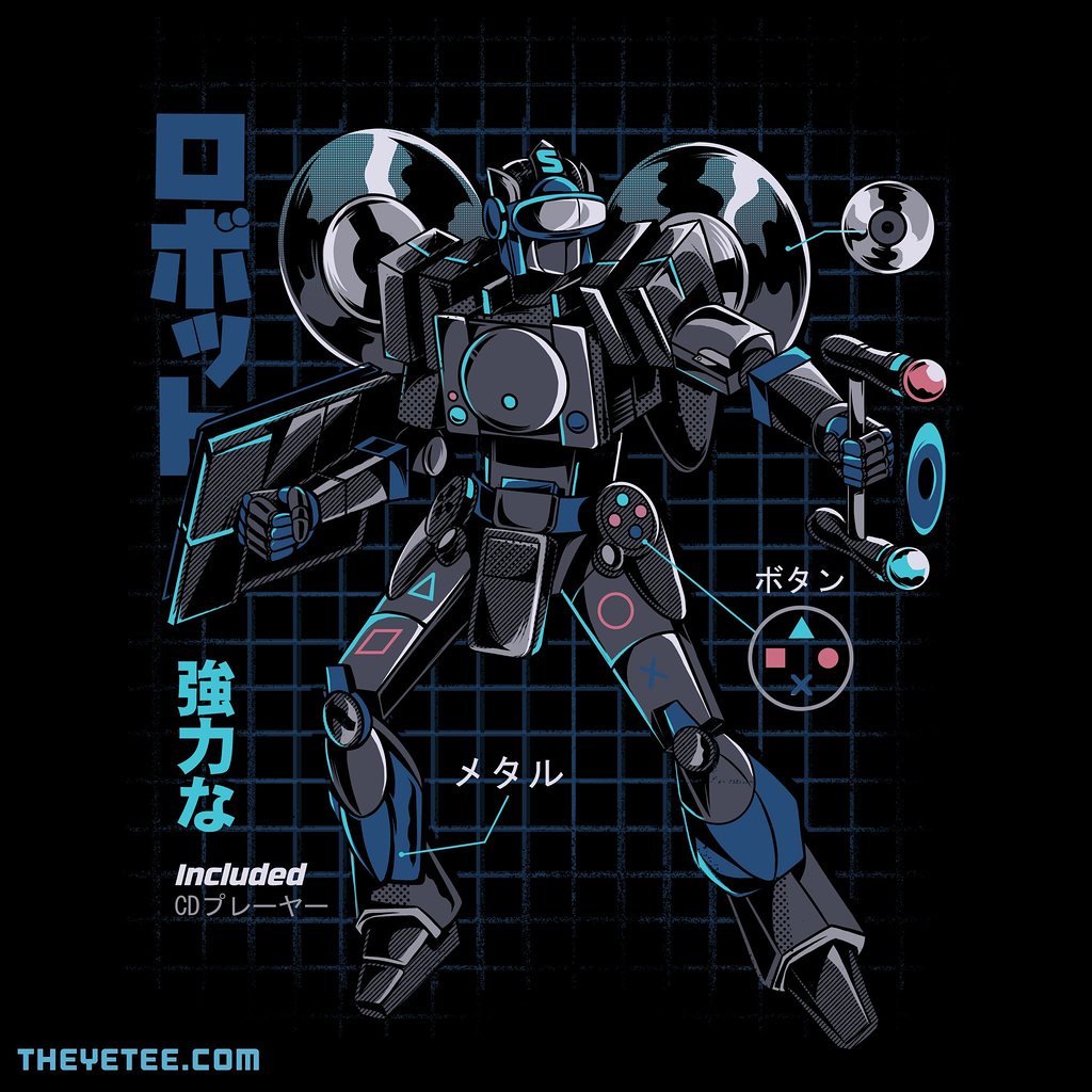The Yetee: Video Game Robot - Model S
