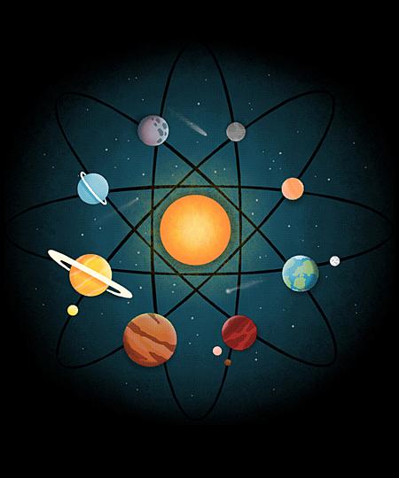 Qwertee: Neutron Solar System