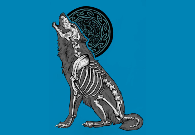 Design by Humans: Moon Howl