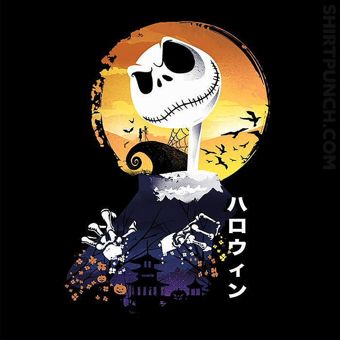 ShirtPunch: Ukiyo E Jack