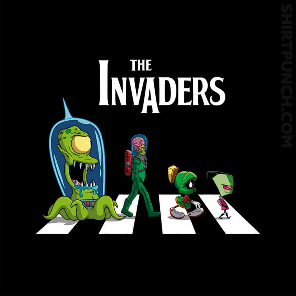 ShirtPunch: The Invaders