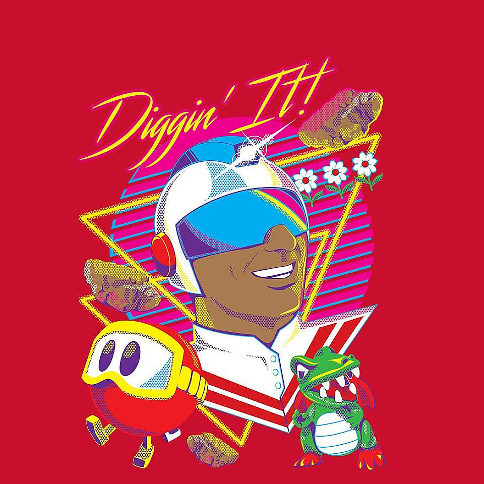 TeeFury: Diggin It