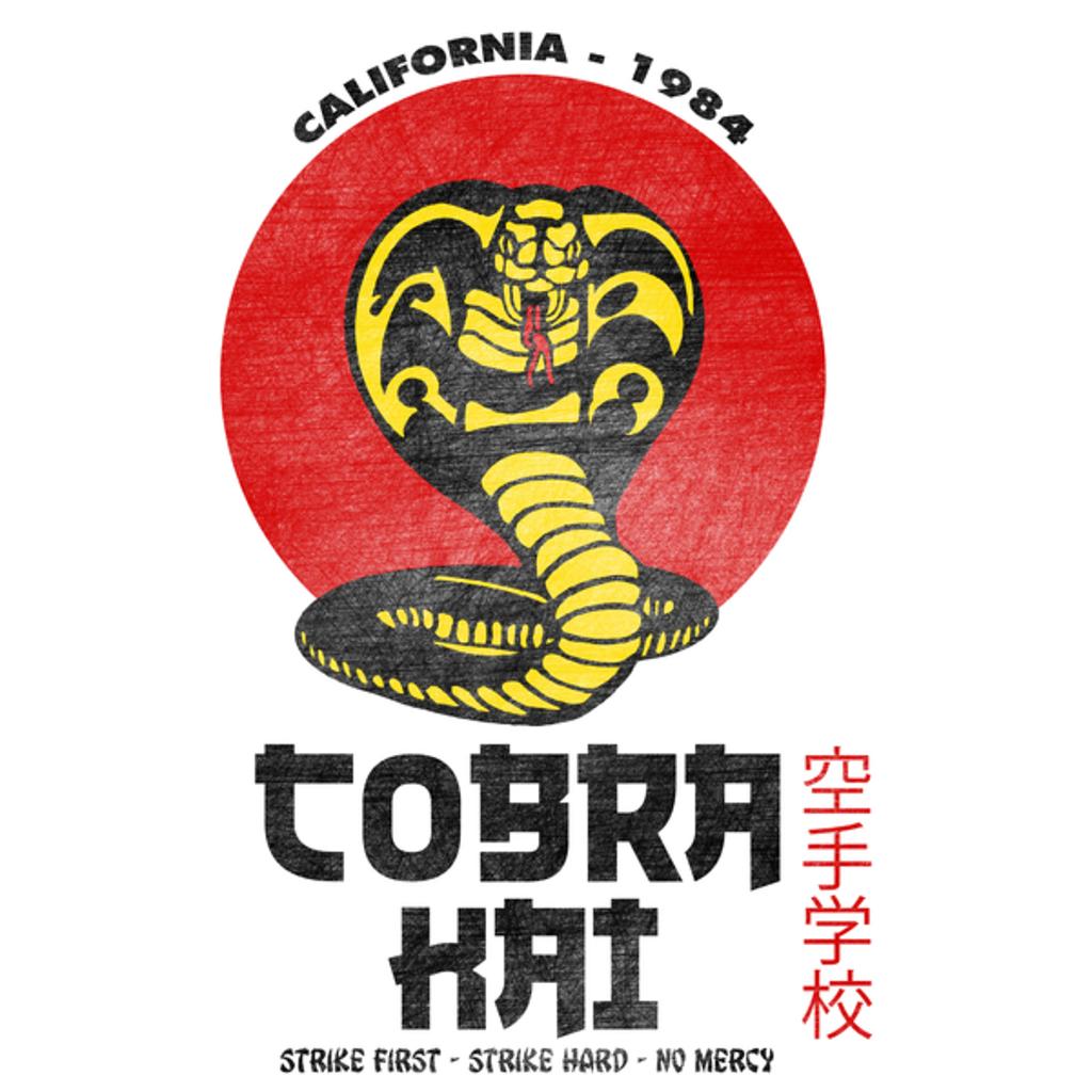 NeatoShop: Cobra Kai (white)