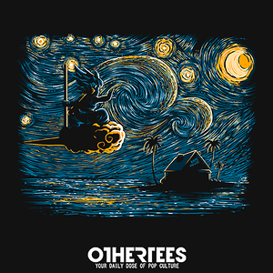 OtherTees: Starry Island
