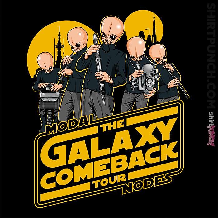 ShirtPunch: Galaxy Comeback