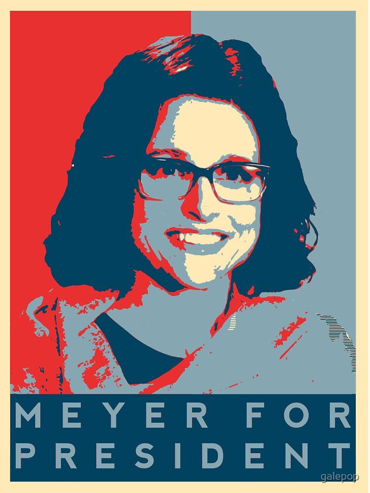 RedBubble: Veep's 'Meyer for President' T Shirt