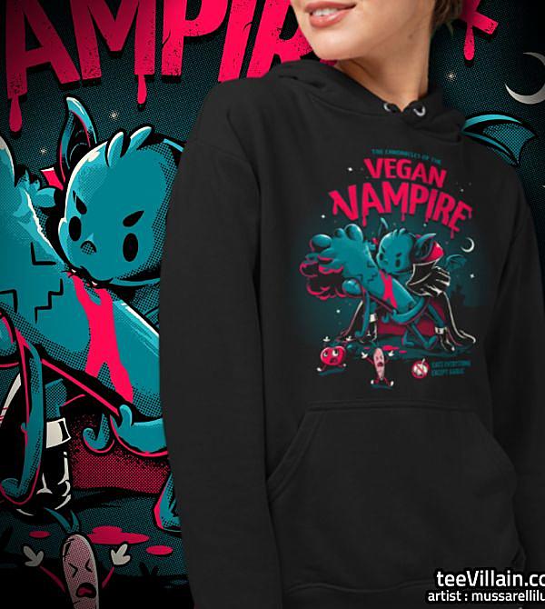 teeVillain: Vegan Vampire