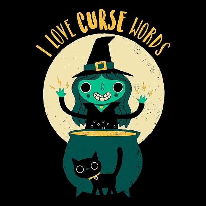 Once Upon a Tee: I Love Curse Words
