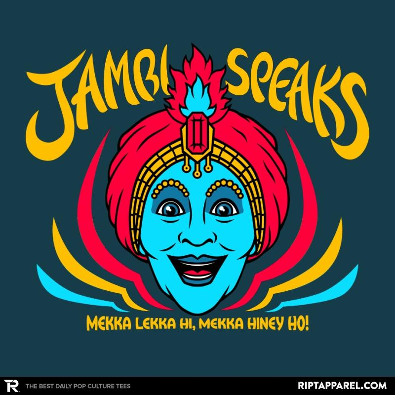 Ript: Jambi Speaks