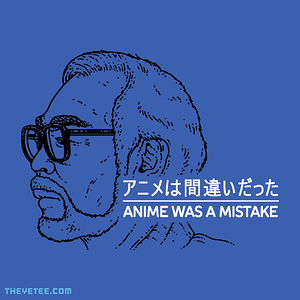 The Yetee: Anime Was Definitely A Mistake