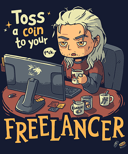 Qwertee: Freelancer of Blaviken