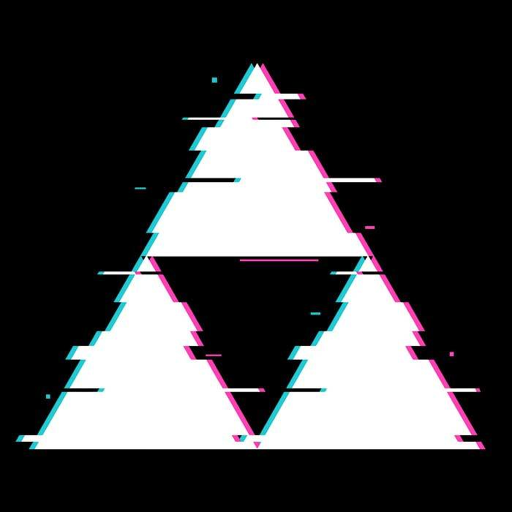 Once Upon a Tee: Glitch Triforce