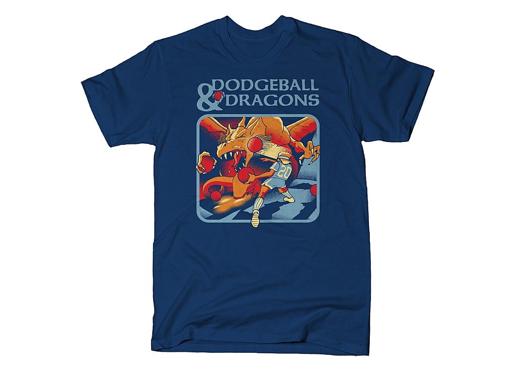 SnorgTees: Dodgeball And Dragons