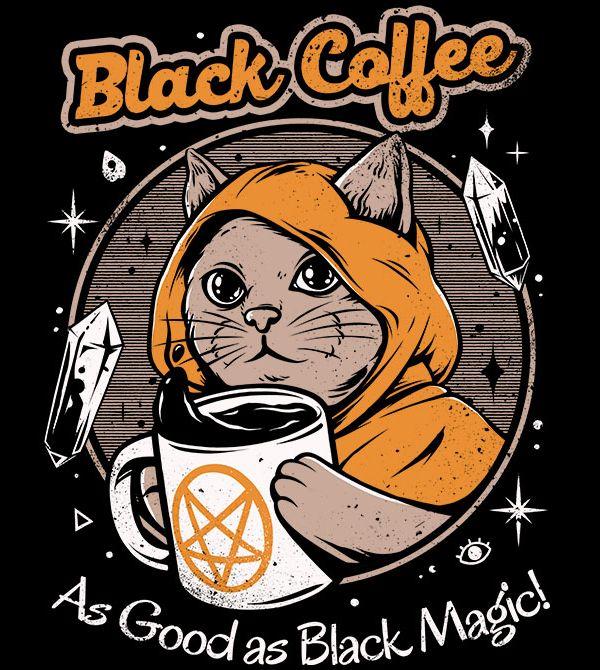 teeVillain: Black Coffee