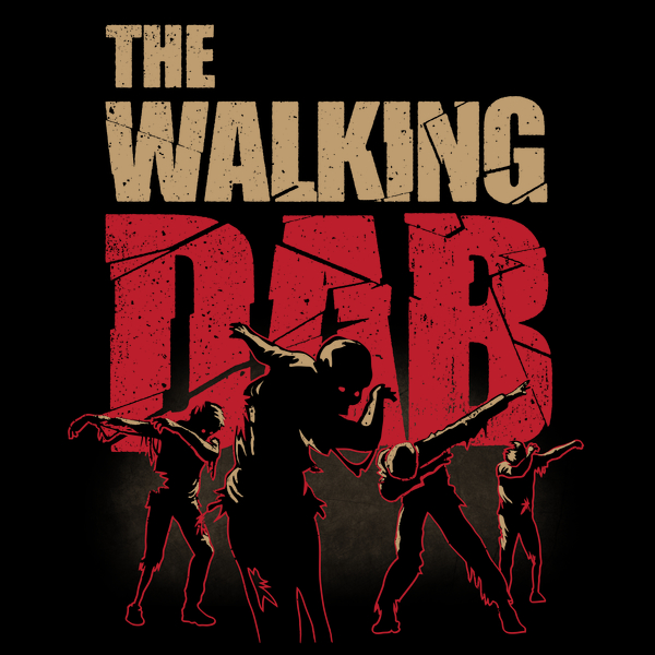 NeatoShop: Dabbing Walking Dab Zombie T-shirt