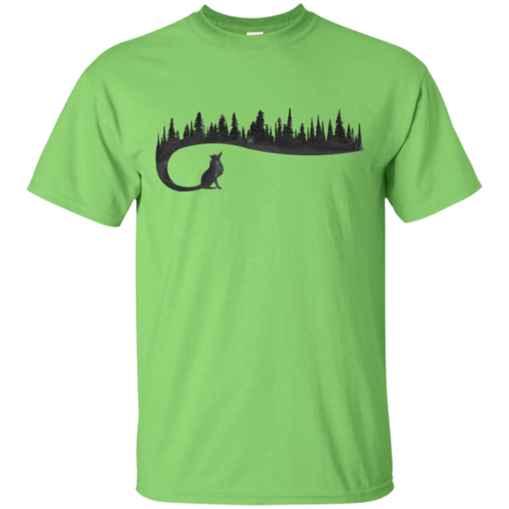 Pop-Up Tee: Wolf Tail