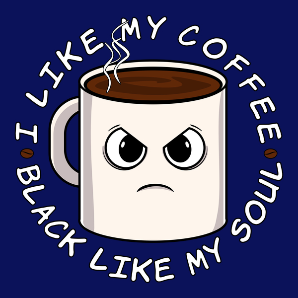 NeatoShop: Coffee As Black As My Soul