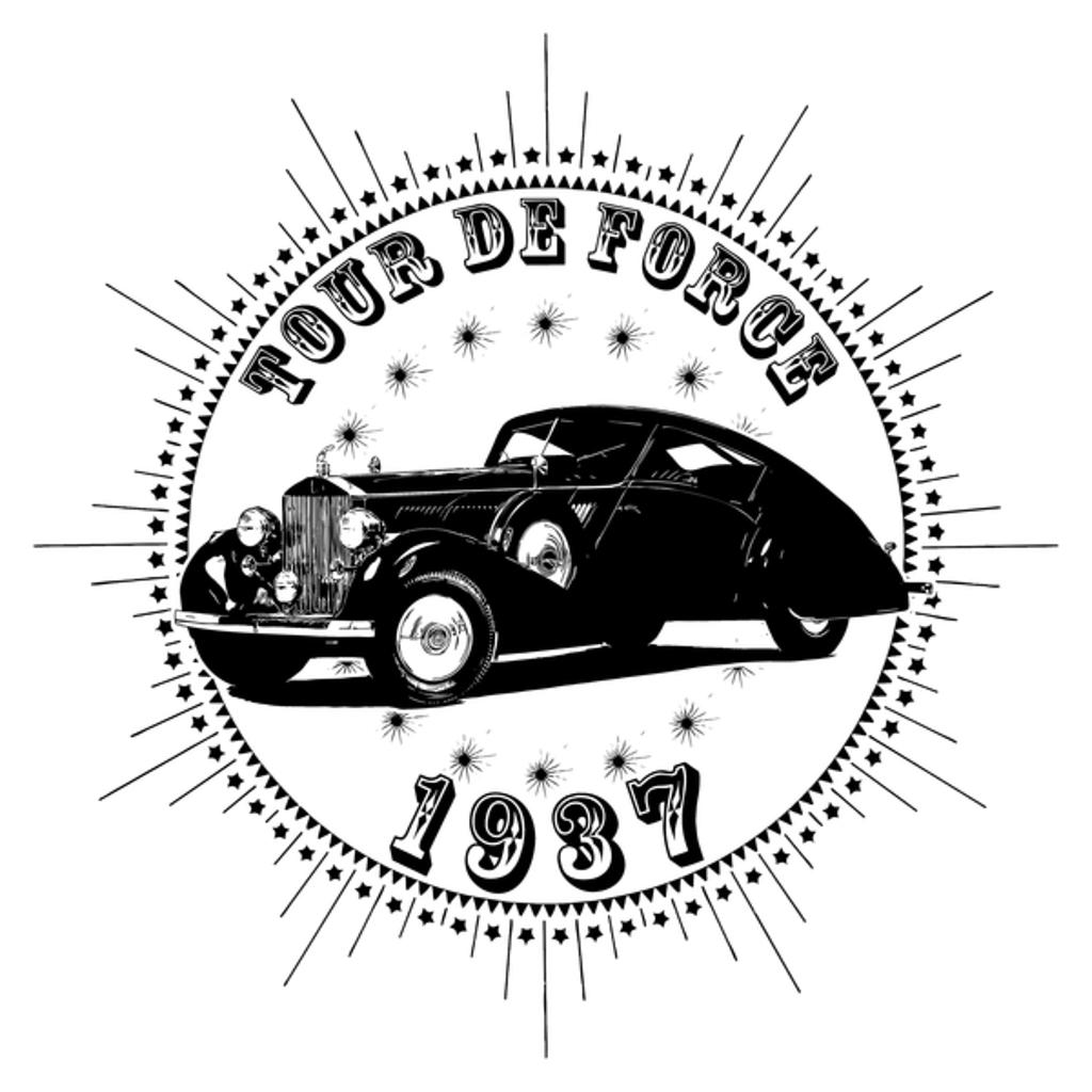NeatoShop: Vintage Classic Car 1937 Tour De Force Rolls