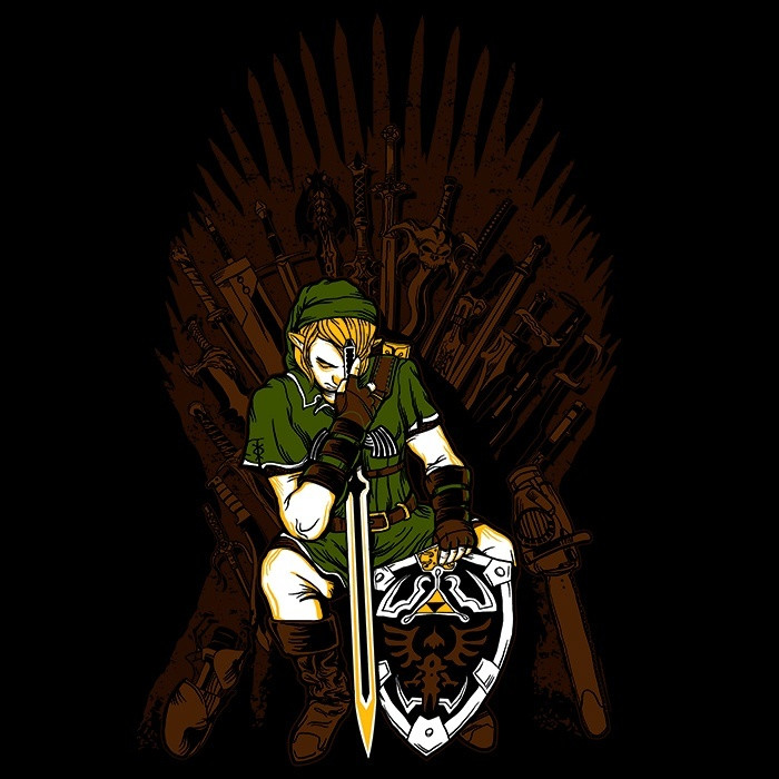 We Heart Geeks: Game of Blades - Men's T-Shirt