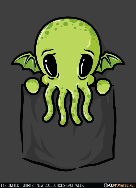 Once Upon a Tee: Pocket Cthulhu