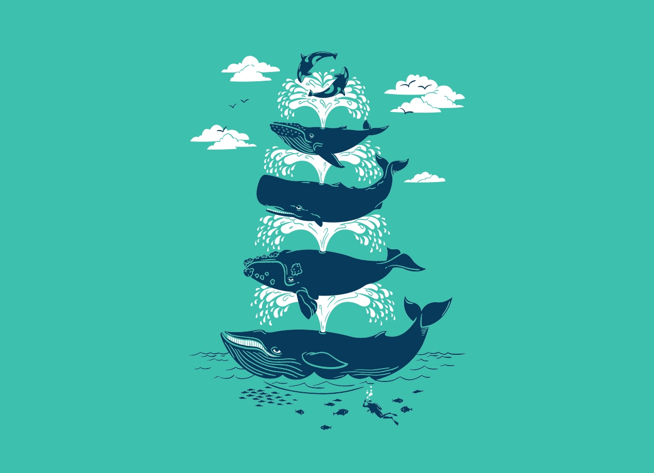 Threadless: Whale of a Time