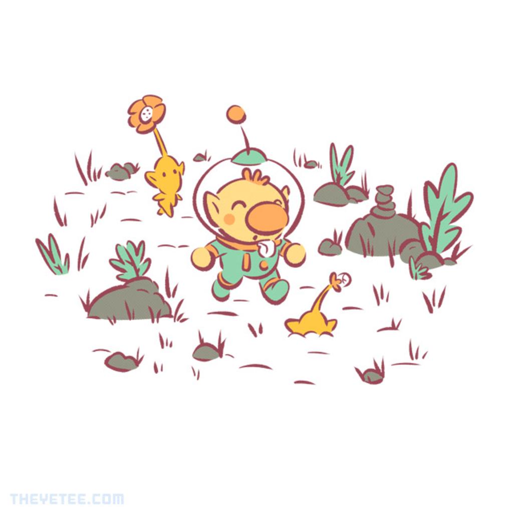 The Yetee: Garden Friends