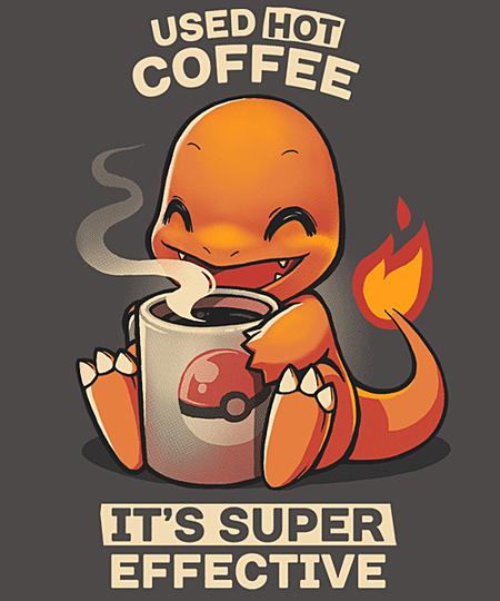 Qwertee: Hot coffee