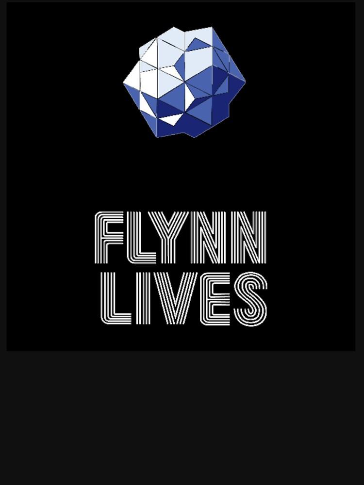 RedBubble: FLYNN LIVES BINARY BIT