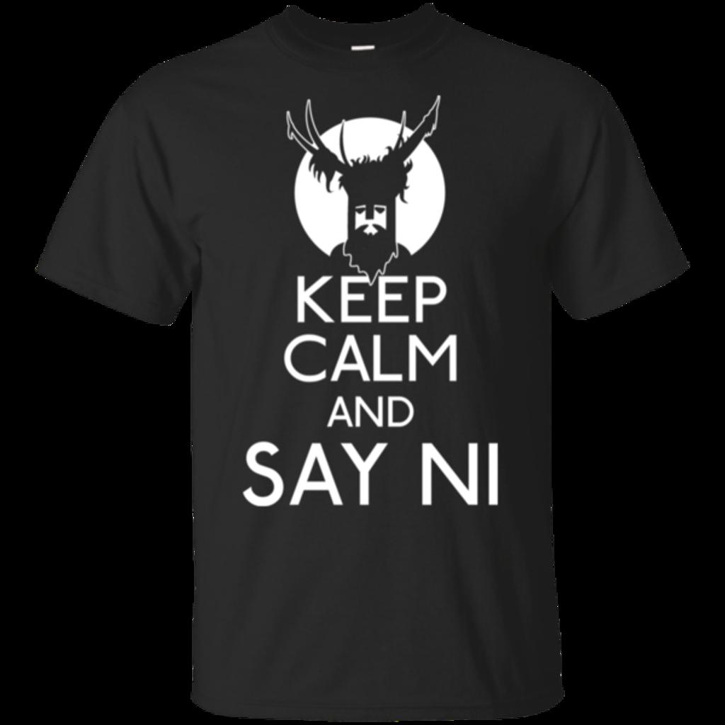 Pop-Up Tee: Keep Calm and Say Ni
