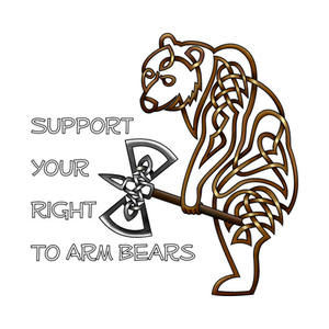 TeePublic: Armed Bear