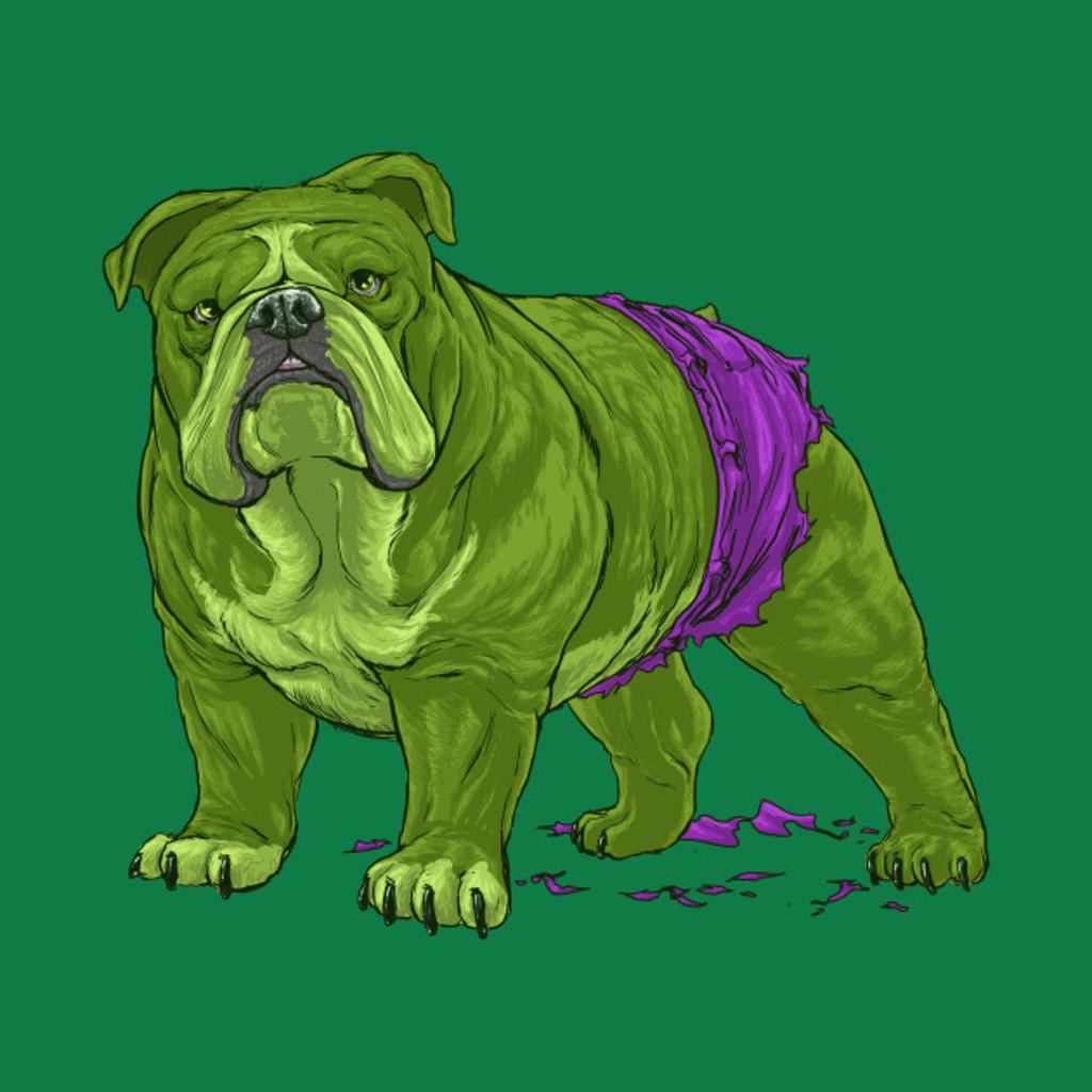 TeePublic: the Incredible Hulk