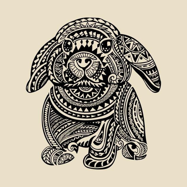 TeePublic: Polynesian Bunny