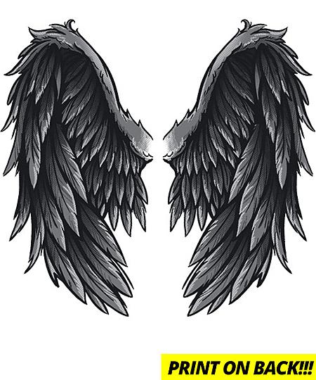 Qwertee: evil wings