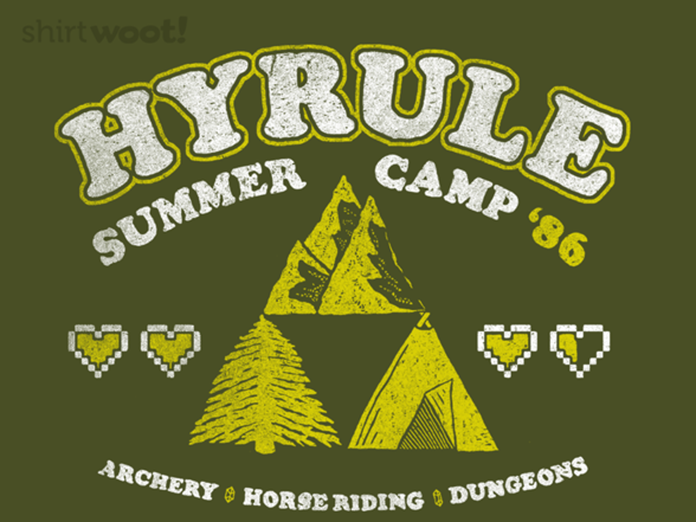 Woot!: Camp Hyrule - $15.00 + Free shipping