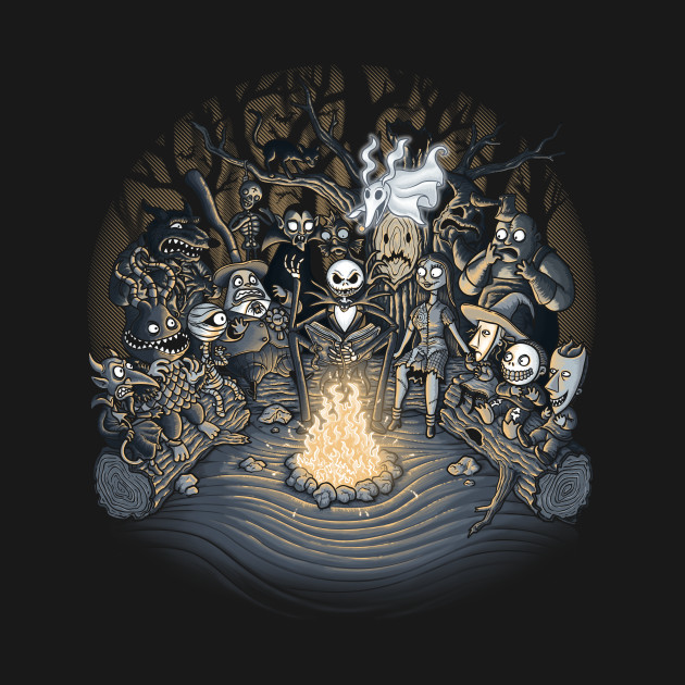 TeePublic: halloween tale T-Shirt