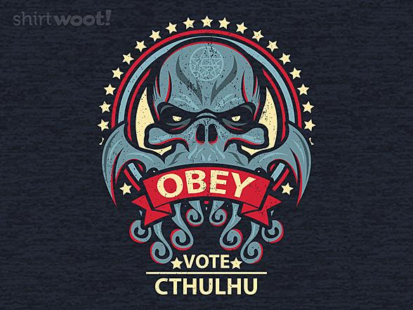 Woot!: Vote Chuthulu