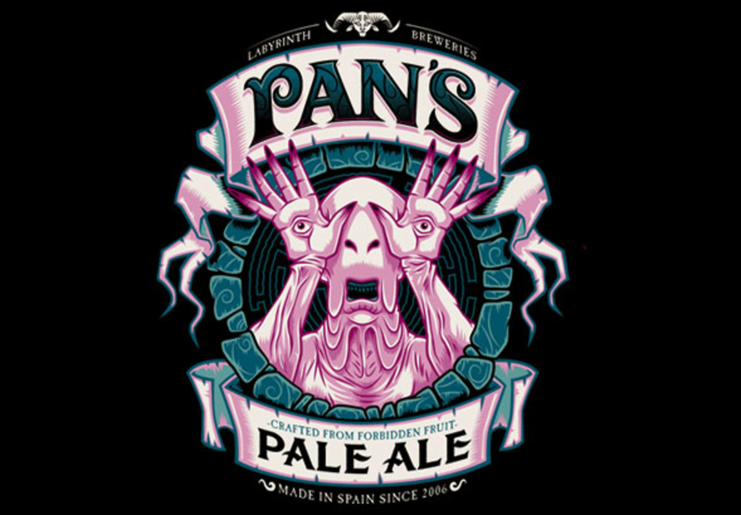 teeVillain: Pan's Pale Ale