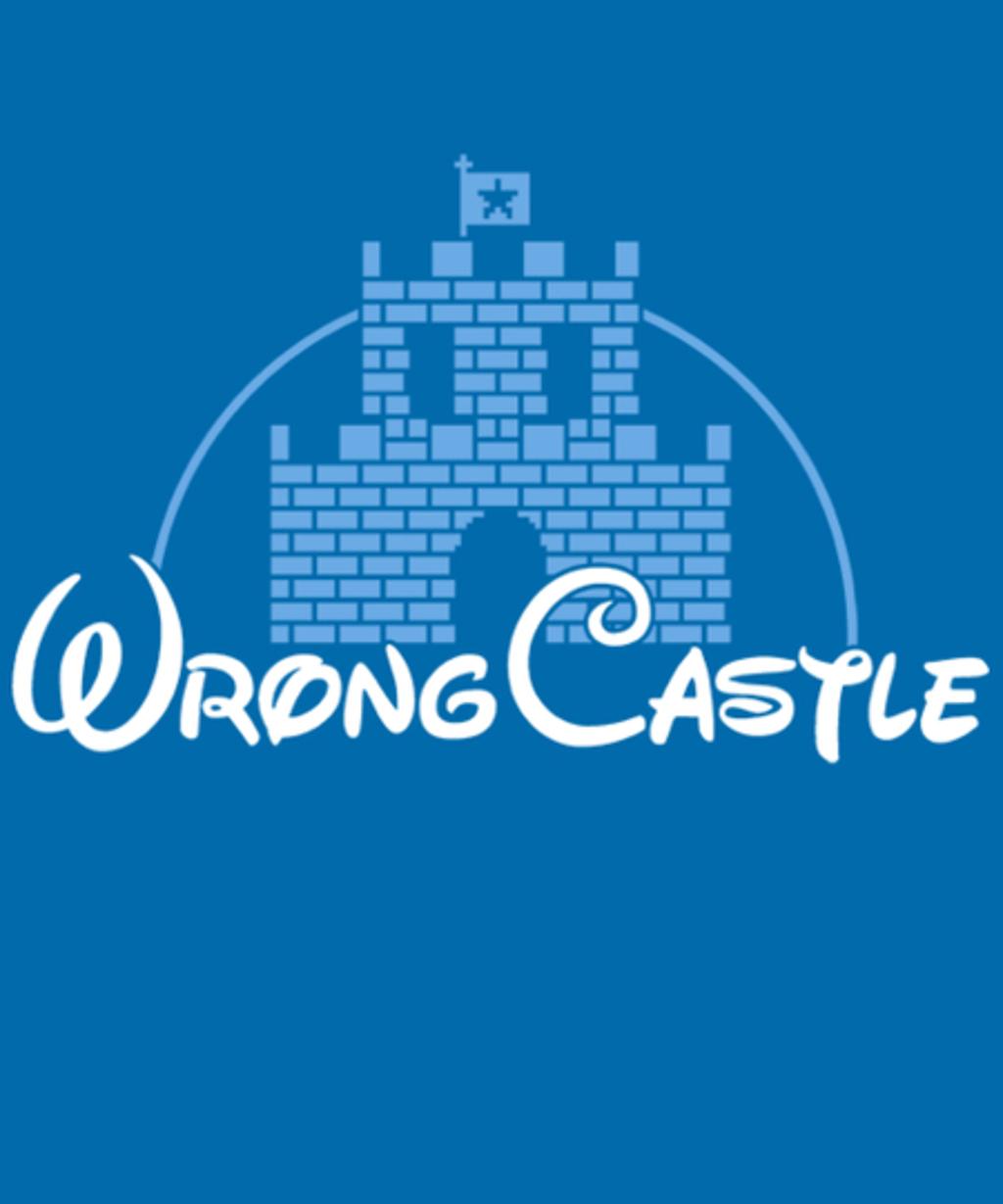 Qwertee: Wrong Castle
